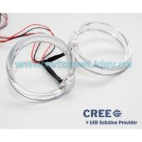 Светодиодные ангельские глазки CREE LED BMW type 80 mm