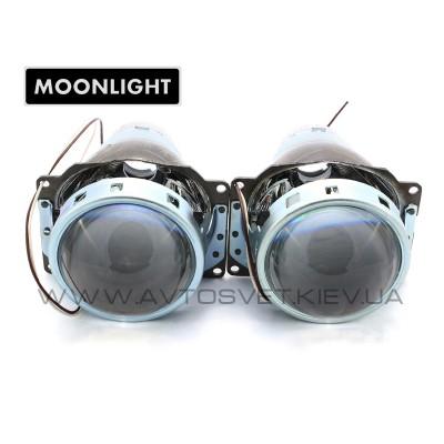 """Биксеноновые линзы Moonlight G6 3.0"""" H4"""